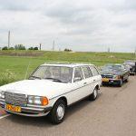 Mooie S 123 in de rij voor de pont Herwijnen-Brakel