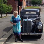 Moeder 90 jaar me tde MB220Gr