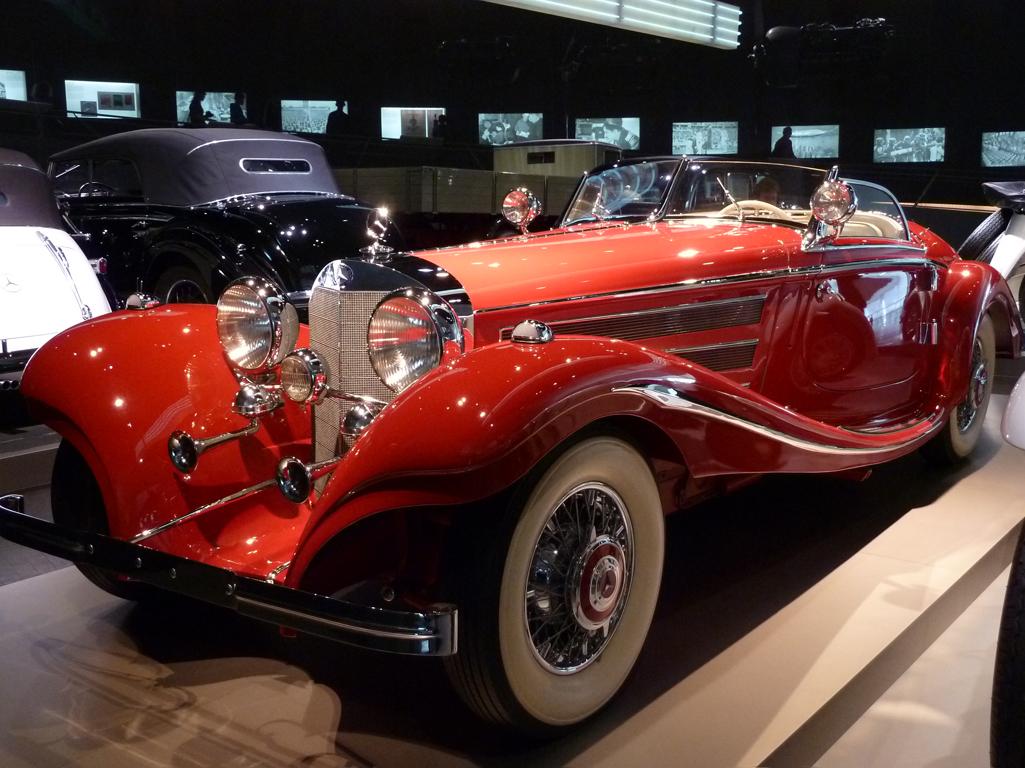 Mercedes Jubileumreis okt 2010 - MB Museum (11)