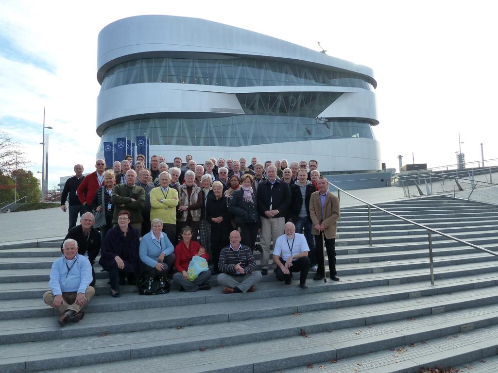 Mercedes Jubileumreis okt 2010 - MB Museum (2)