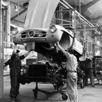 1954: Productie 300SL